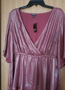 Torrid blouse ..never worn with tags